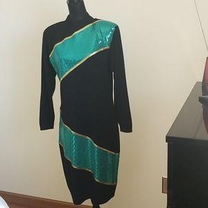 St John black dress size 10